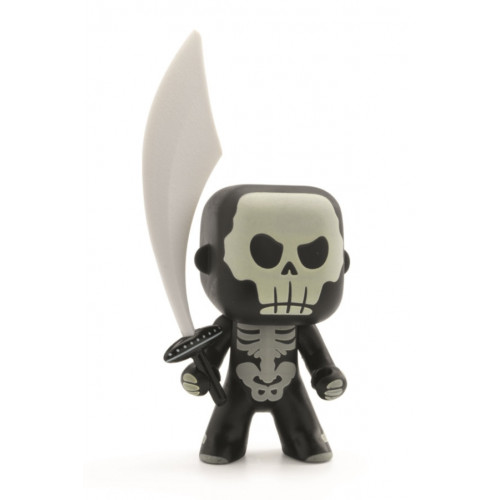 ARTY TOYS PIRATE - SKULLY (PHOSPHORESCENT)