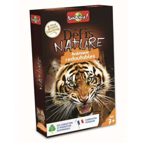 DEFIS NATURE - ANIMAUX REDOUTABLES