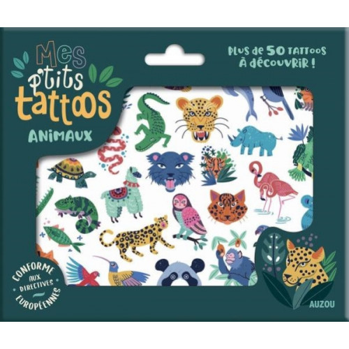 MES P'TITS TATTOOS - ANIMAUX