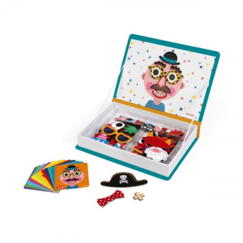 MAGNETI'BOOK CRAZY FACES GARCON 70 MAGNETS