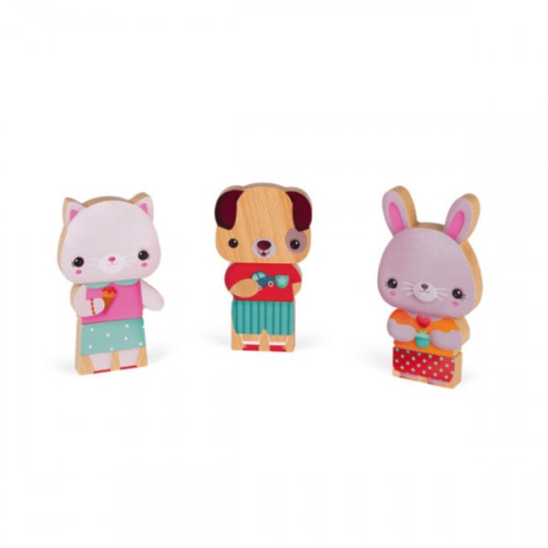 FUNNY MAGNETS - ANIMAUX DE COMPAGNIE