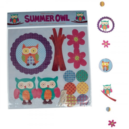 MAKE YOUR OWN SUMMER OWL CHOUETTE
