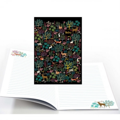 CAHIER NOTES FORET ENCHANTEE