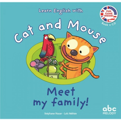 LEARN ENGLISH WITH CAT AND MOUSE - MEET MY FAMILY