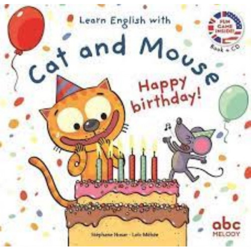 LEARN ENGLISH WITH CAT AND MOUSE - HAPPY BIRTHDAY
