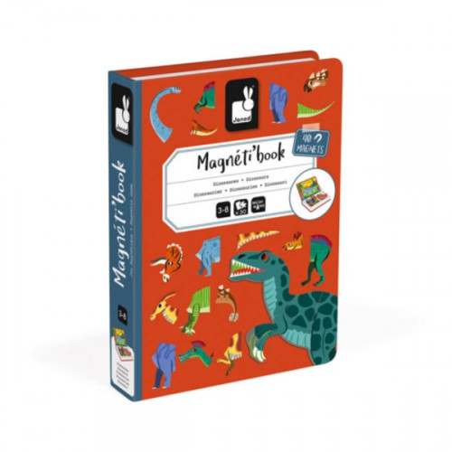 MAGNETI'BOOK DINOSAURES 40 MAGNETS