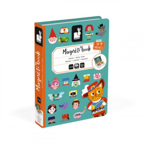MAGNETI'BOOK CONTES 30 MAGNETS